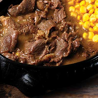 Beef & Corn Sizzler